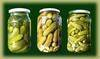 Gherkins IN Jars In Barrels