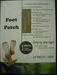 Sell detox foot patch/foot pad with FDA certificate & MSDS approval