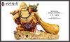 Laughing buddha figurines, buddha crafts, budda gods, ceramic buddha