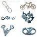 Metal puzzle, wire puzzle, cast puzzle, metal brain teaser