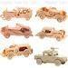 3d wooden puzzle, wooden construction kit