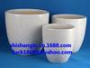 Ceramic flower pots, vases