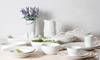 White Porcelain Dinnerware Sets