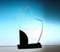 Crystal award trophy