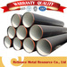 ASTM A53 SCH40 ERW CARBON STEEL PIPE