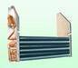 Air cooled fin type condenser and evaporator copper filter drier