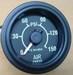 Utrema Auto Dual Needle Air Pressure Gauge 52mm