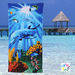 100$% cotton Beach Towel/printed Towel