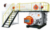 Fired clay/shale/coal brick machine/Double stage vacuum extruder JKY75