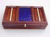 Solid 14 Karat Gold Banded Cancharana Jewelry Box