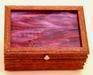 Figured Andiroba Wood Music Keepsake Box