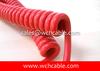 Polyurethane PUR Flexible Spiral Cable