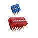 Dip switch, toggle switch