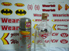 Decal water Transfer printing/Glass/Metal