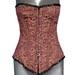 Velvet Handmade Embroidery Corsets