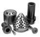 Graphite Plates, Boats, Burner caps, Impellers, Casings, Crucibles