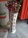 Handmade sisal flower vases