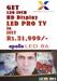LED PRO TV 120 Inch