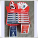JAWS PK1001 CASINO PLASTIC COATED GUARANTEE LONG LASTING PLAYING CARDS