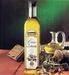 Olive oil extra virgin in glass
