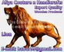 Wooden Animals Engraved Carving Rosewood Animals Status