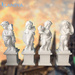Outdoor marble garden statues carrara marble sculpture for sale