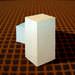 Honeycomb ceramic for RTO
