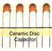 AC/DC Ceramic capacitor, MOV and the elements AND Electro-Tinned Coppe