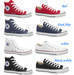 Men and women canvas shoes