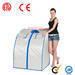 Foldable beauty salon capsule, portable sauna cabine, slimming sauna ro