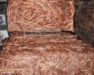 We have available pure copper scrap with 99.999%