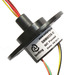 Capsule slip rings OD 22mm 6 circuits each 2A