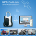 GPS container tracking lock