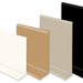 Soft pvc skirting board