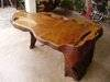 Exclusive Tree Root Carving Tea Table