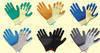 Latex coated working gloves