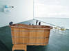 Bamboo Massage Bathtub/ Hot Tub/ Spa Tub