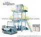 Plastic vest bag making machine
