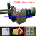 Fastest 2500 Piece High Speed Serviette Making Machine