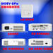 Mini HD projector MOBV-SPw- with operating system and touch pad