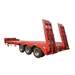 3 axle heavy duty lowbed semi trailer