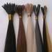 Pre-bonded hair extension, nail,I,U,V tip hair extension