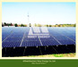Aluminum Ground Solar Mounting System with Concrete Base or Ground Sc