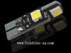 Super bright T10 4smd LED with Canbus
