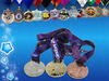 Medals coins and precise metal parts