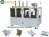 Auto tray erector (CE) Custom-made hot melt version auto glue sealing