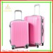 Fashion abs pc luggage hardshell trolley luggage china factory