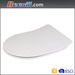 Euro standard quick release and soft close duroplast toilet seats