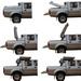 2013 New Designed Nissan Navara DBT Hard Tonneau Cover