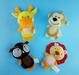 Soft plush pet toys